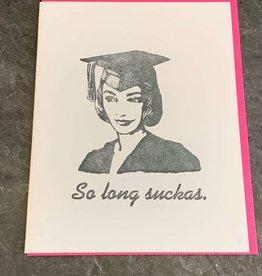 Zeichen Press Zeichen Press - Grad Girl Graduation Card