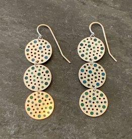 Hilary Finck Jewelry Hilary Finck Ellipsis Green & Blue