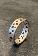 Hilary Finck Jewelry Hilary Finck Dot Ring Red & Orange