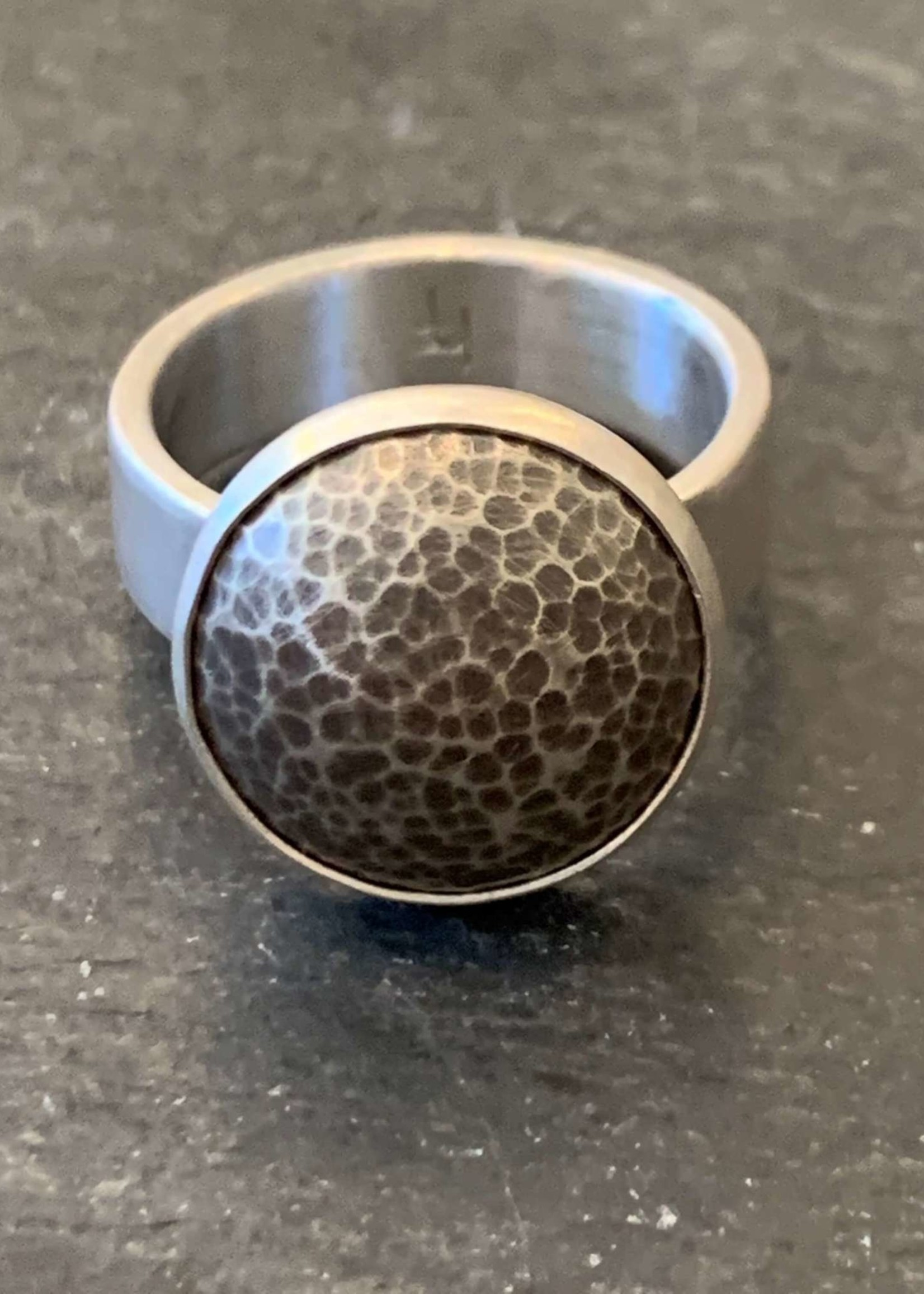 Hilary Finck Jewelry Hilary Finck Crater Spin Ring
