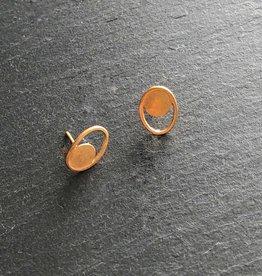 Denise Heffernan Denise Heffernan Little Loop Earring 24k Gold Plate Vermiel