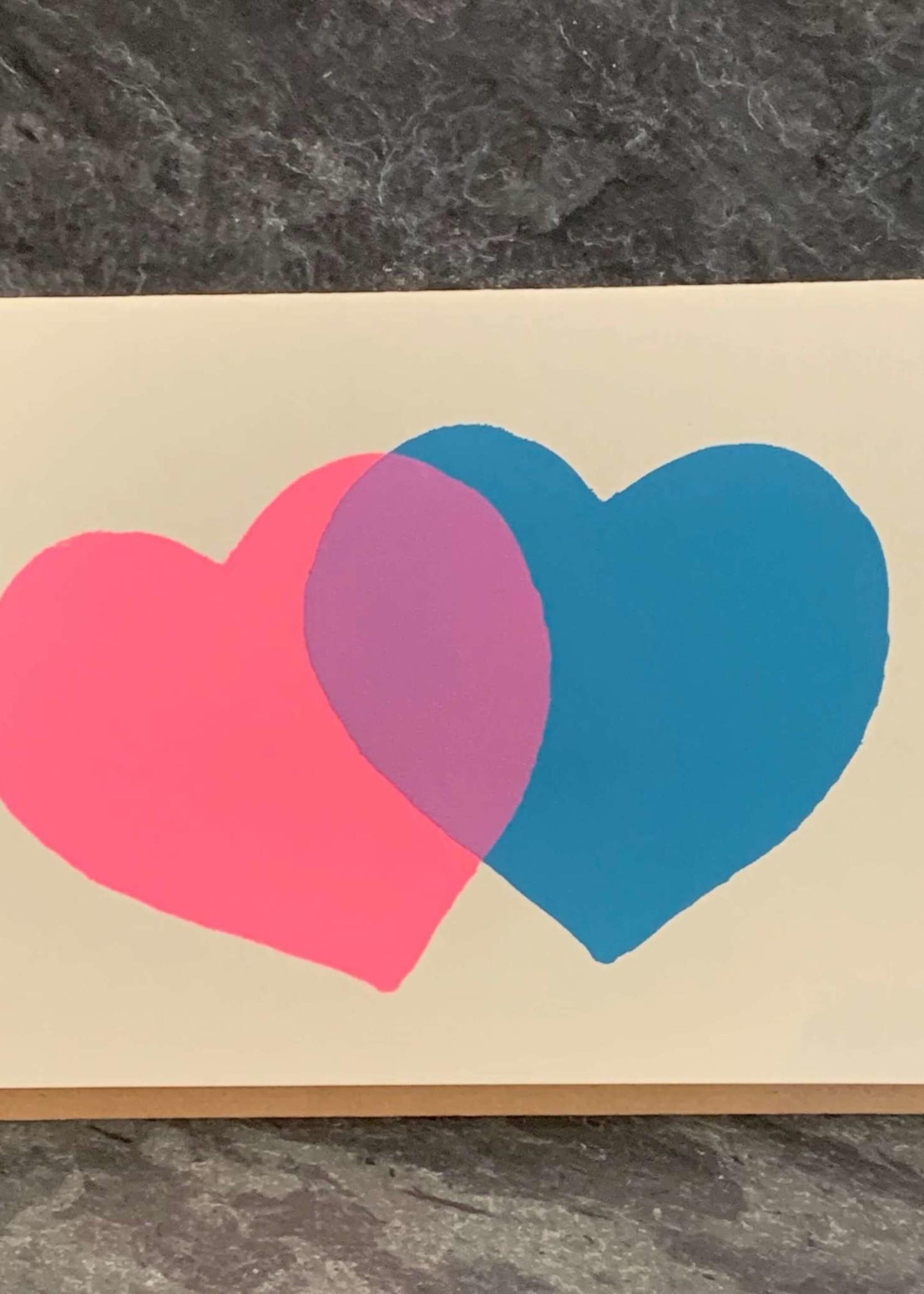 Gold Teeth Brooklyn 2 Hearts Anniversary/Love Card