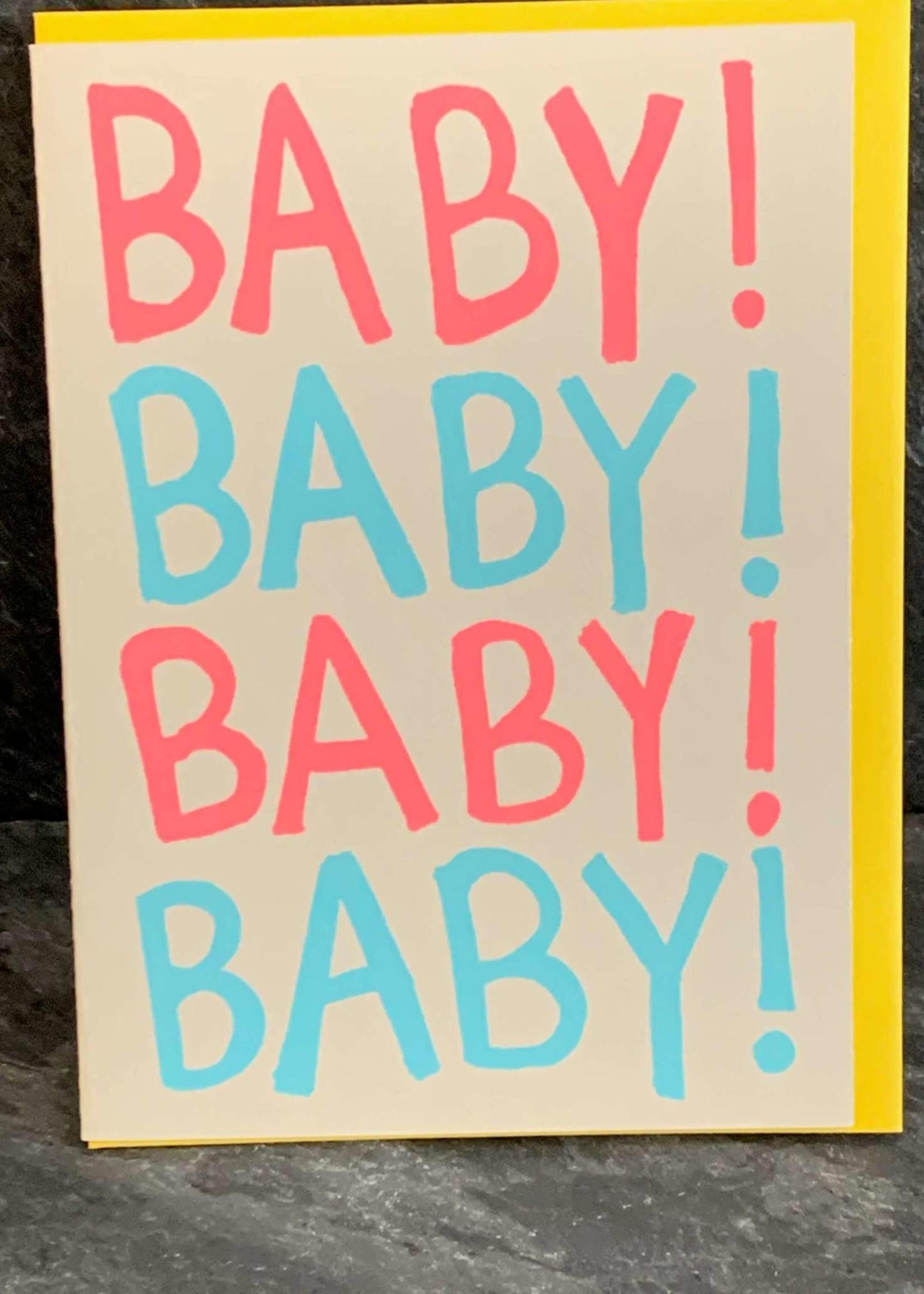 Gold Teeth Brooklyn Baby! Baby Card