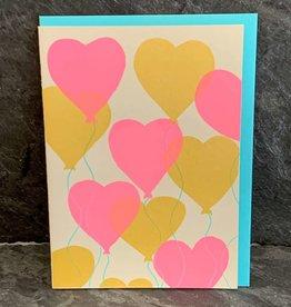 Gold Teeth Brooklyn Gold Teeth Brooklyn - Heart Balloons Anniversary/Love Card