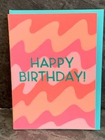 Gold Teeth Brooklyn Gold Teeth Brooklyn - Birthday Waves Birthday Card