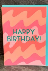 Gold Teeth Brooklyn Birthday Waves Birthday Card