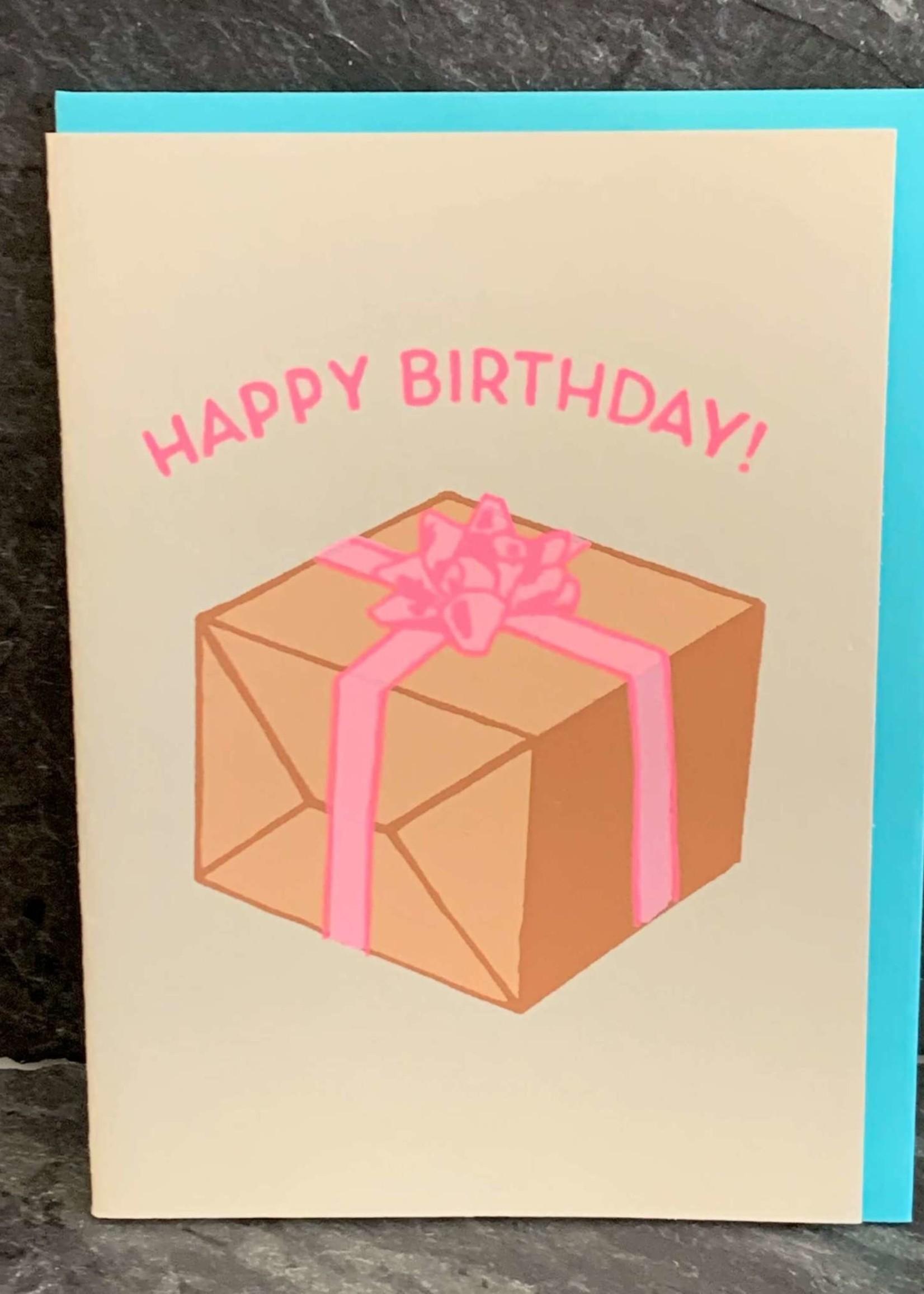 Gold Teeth Brooklyn Birthday Present Birthday Card