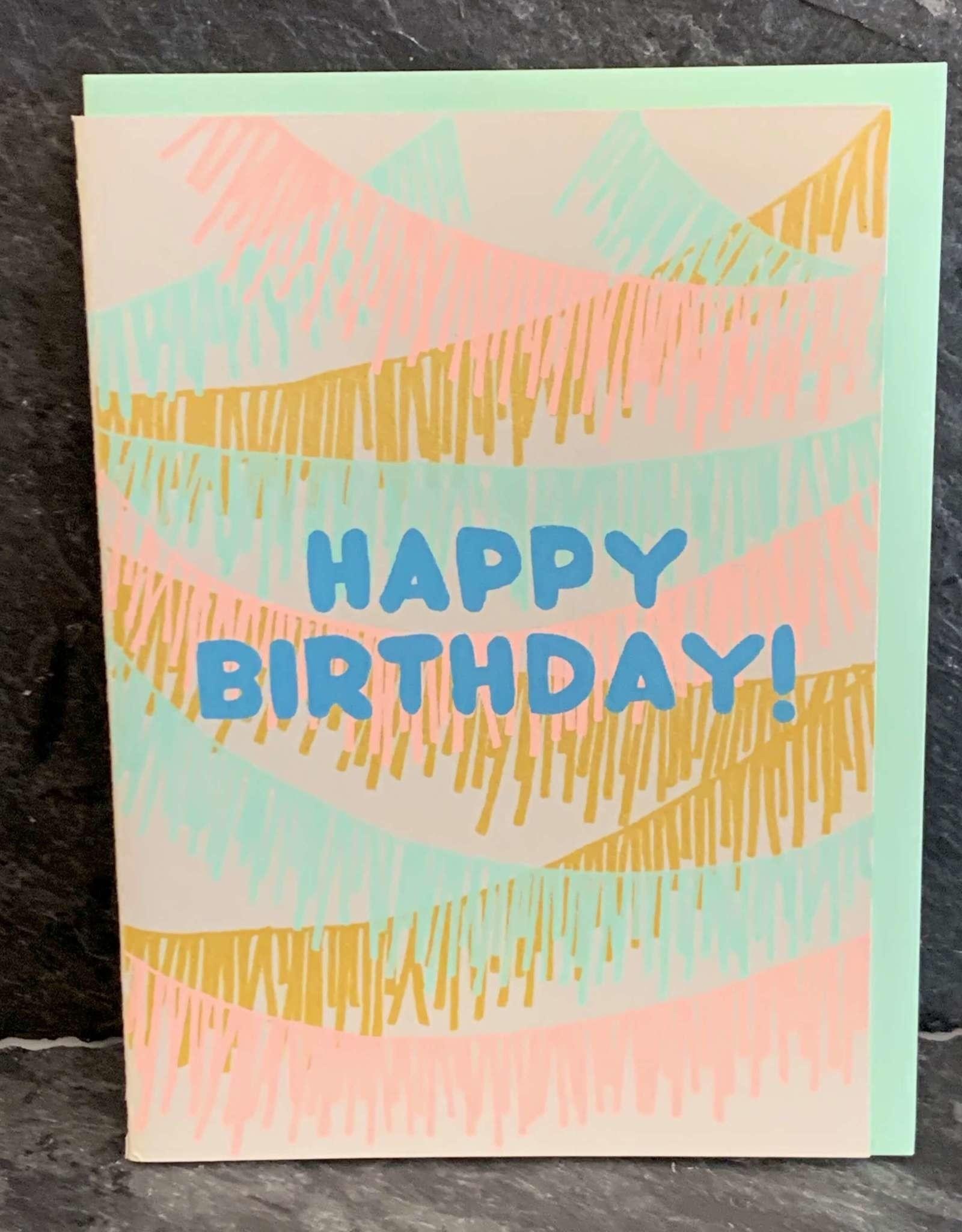 Gold Teeth Brooklyn Birthday Fringe Birthday Card