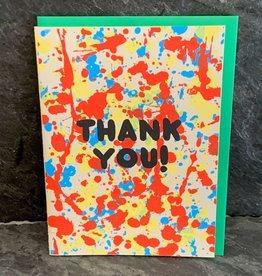 Gold Teeth Brooklyn Gold Teeth Brooklyn - Thank You Splatter Thank You Card