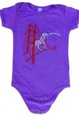 Animal Instincts Animal Insticts Unicorn Onesie 6m-12m