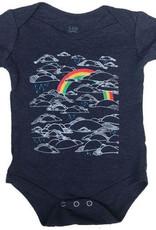 Animal Instincts Animal Insticts Rainbow Onesie 6m-12m