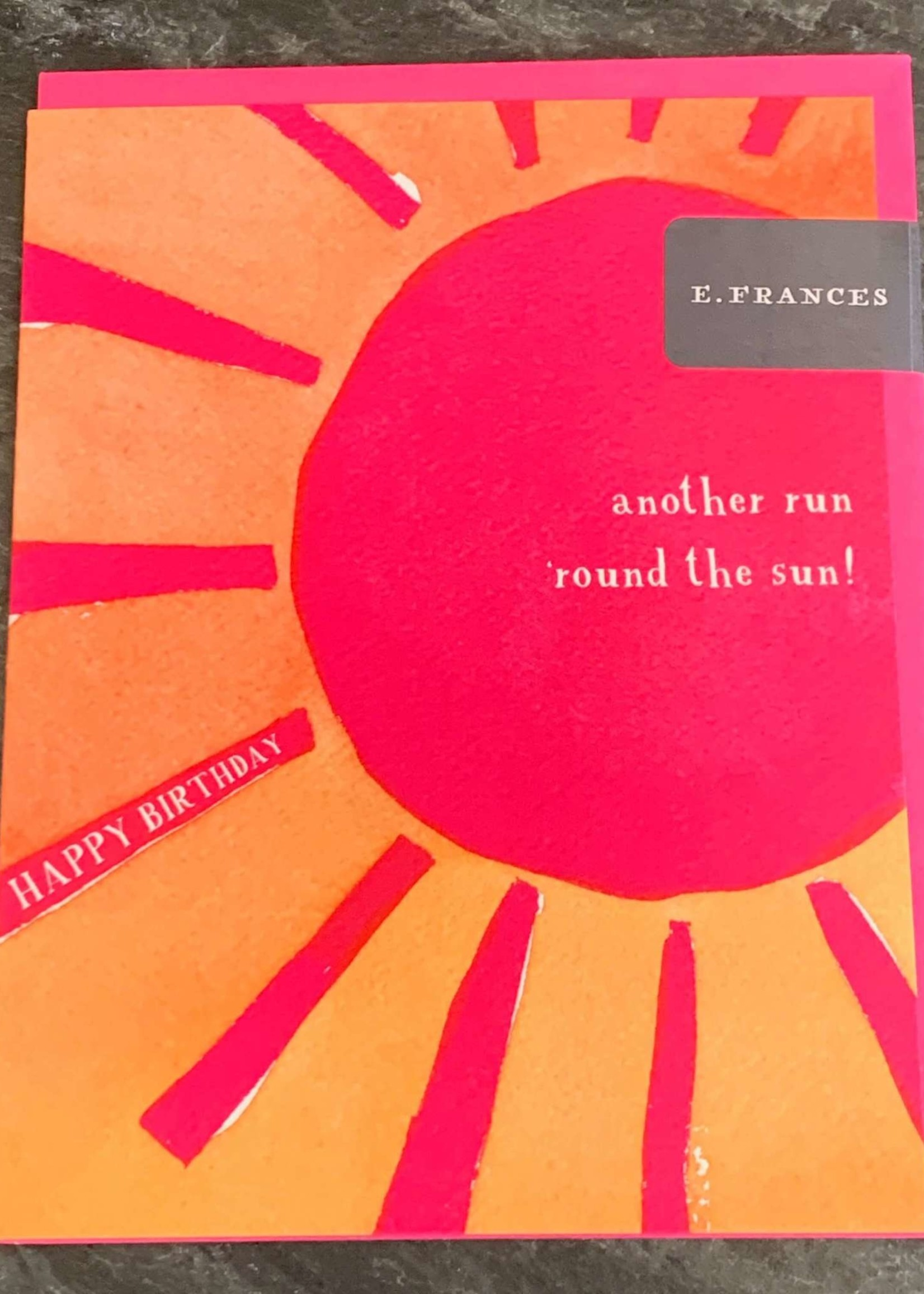 E. Frances Paper E. Frances Round the Sun