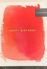 E. Frances Paper E. Frances Red Hot Birthday