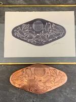 Paul Rodriquez Paul Rodriquez Copper Cuff Belt Buckle + Print
