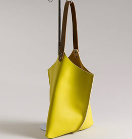 Scabby Robot Scabby Robot Wedge Bag Lemon Yellow Leather