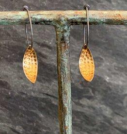 Hilary Finck Jewelry Hilary Finck Leaf Earrings Mini