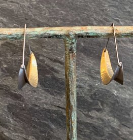 Hilary Finck Jewelry Hilary Finck Crescent Triangle Hoops