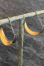 Hilary Finck Jewelry Hilary Finck Crescent Triangle Hoops