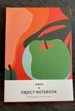 Poketo Poketo Apple Blank Object Notebook