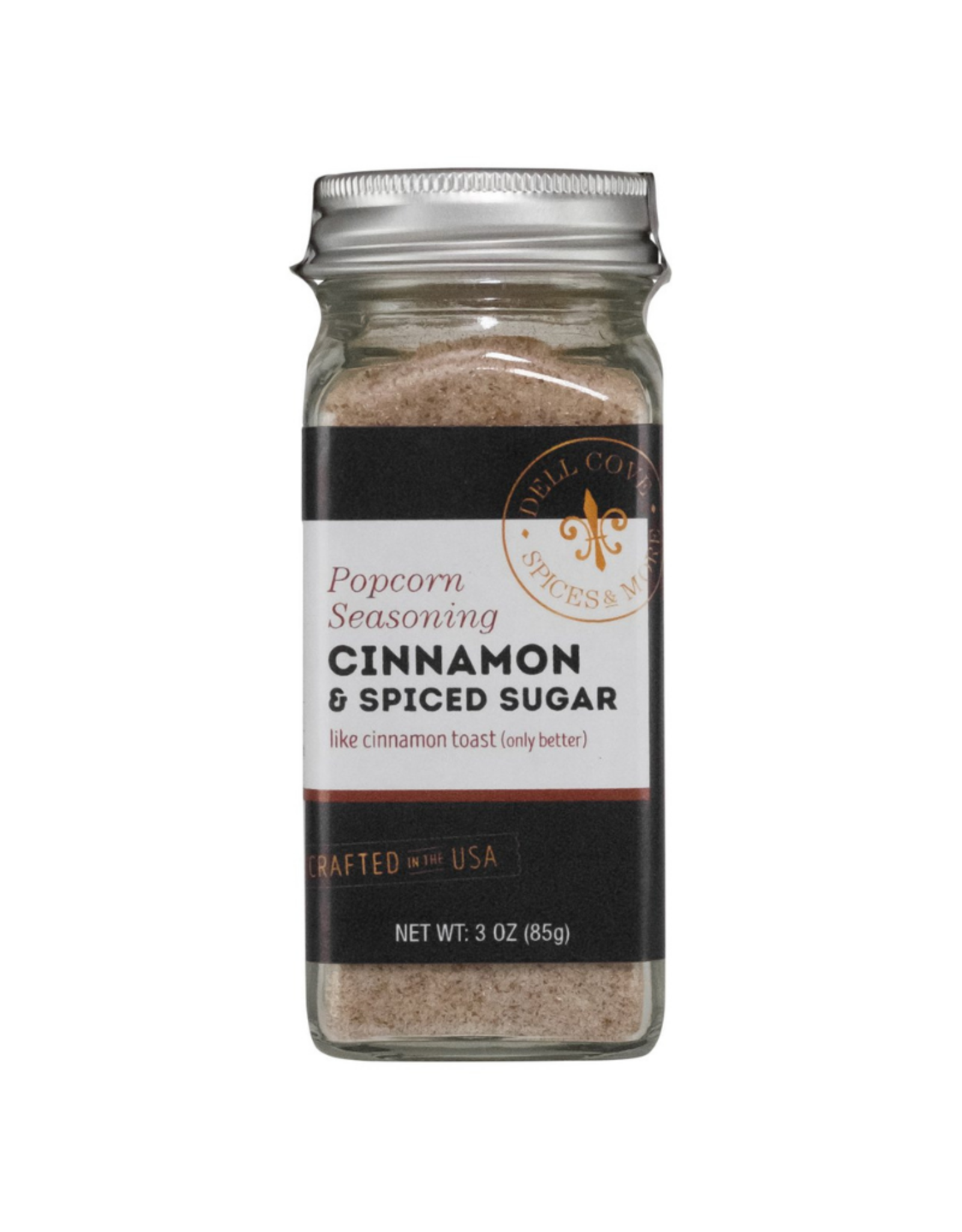 Dell Cove Spices & More Co. Sweet Popcorn Seasoning - Cinnamon & Spiced Sugar