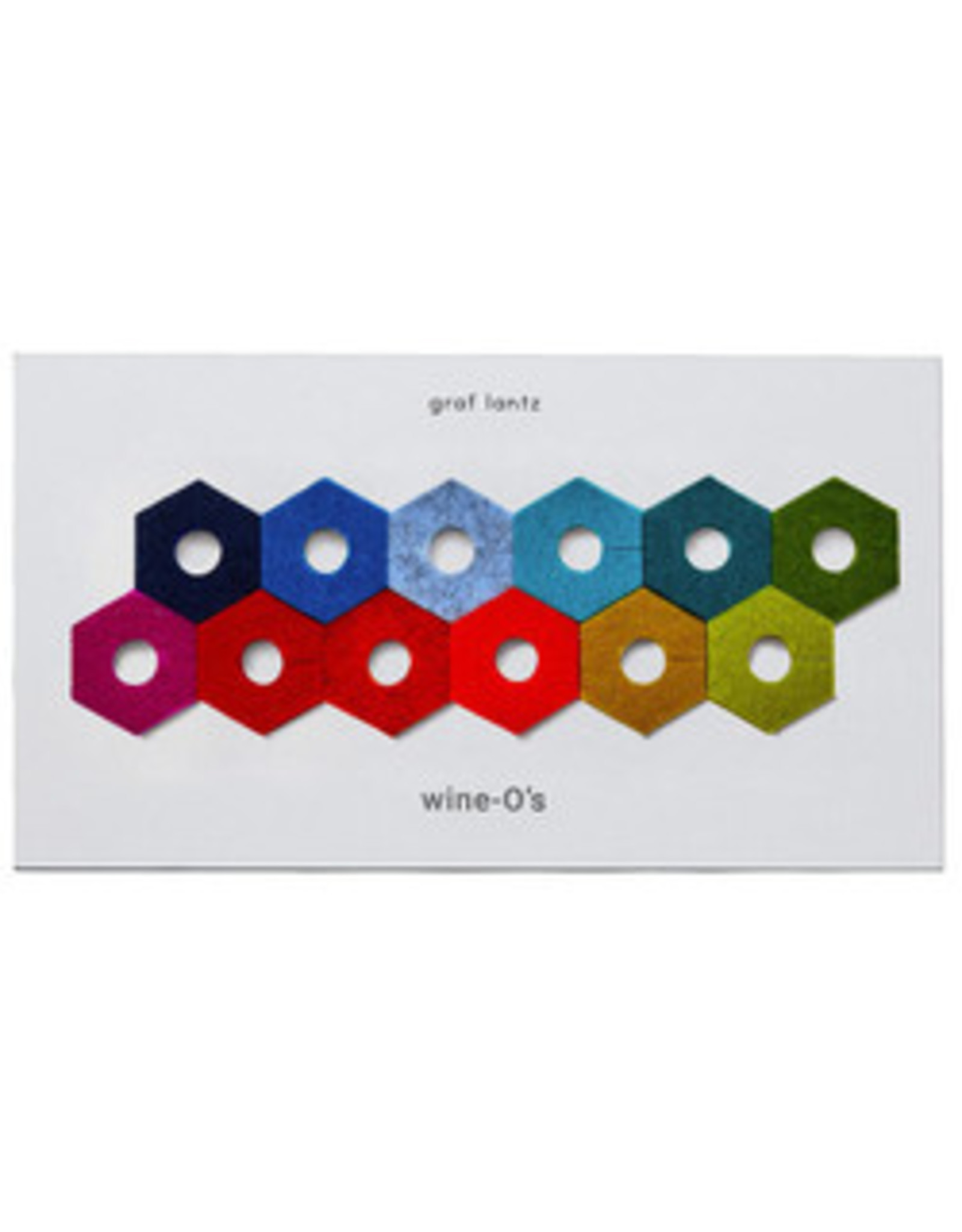Graf&Lantz Wine-O's Hex Rainbow Mix