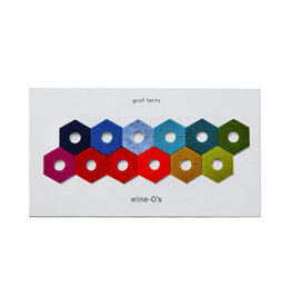 Graf&Lantz Graf Lantz Wine-O's Hex Rainbow Mix
