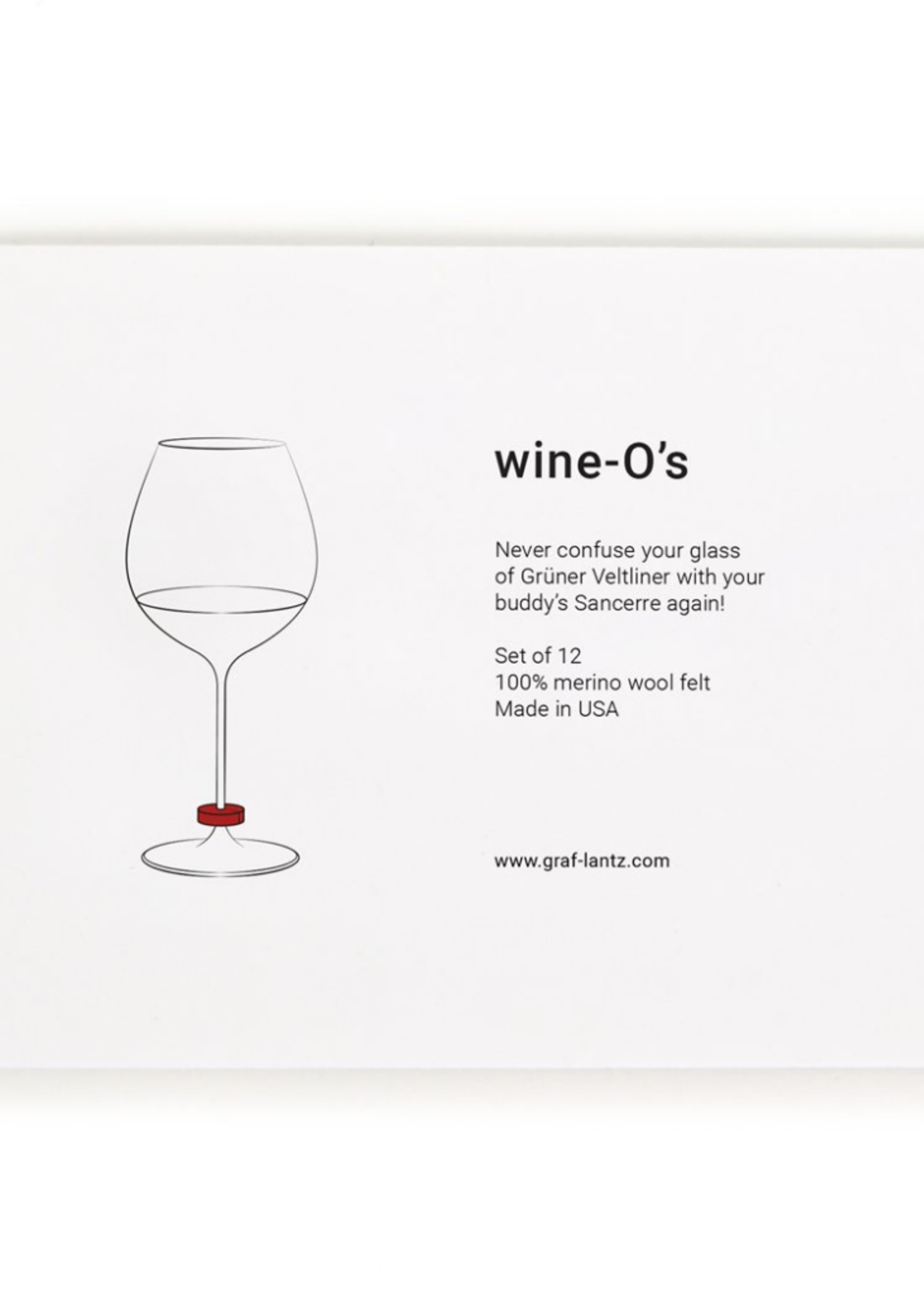 Graf&Lantz Wine-O's Hex Rainbow Mix