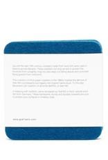 Graf&Lantz Bierfilzl Square Felt Coaster 4 Pack - Ocean