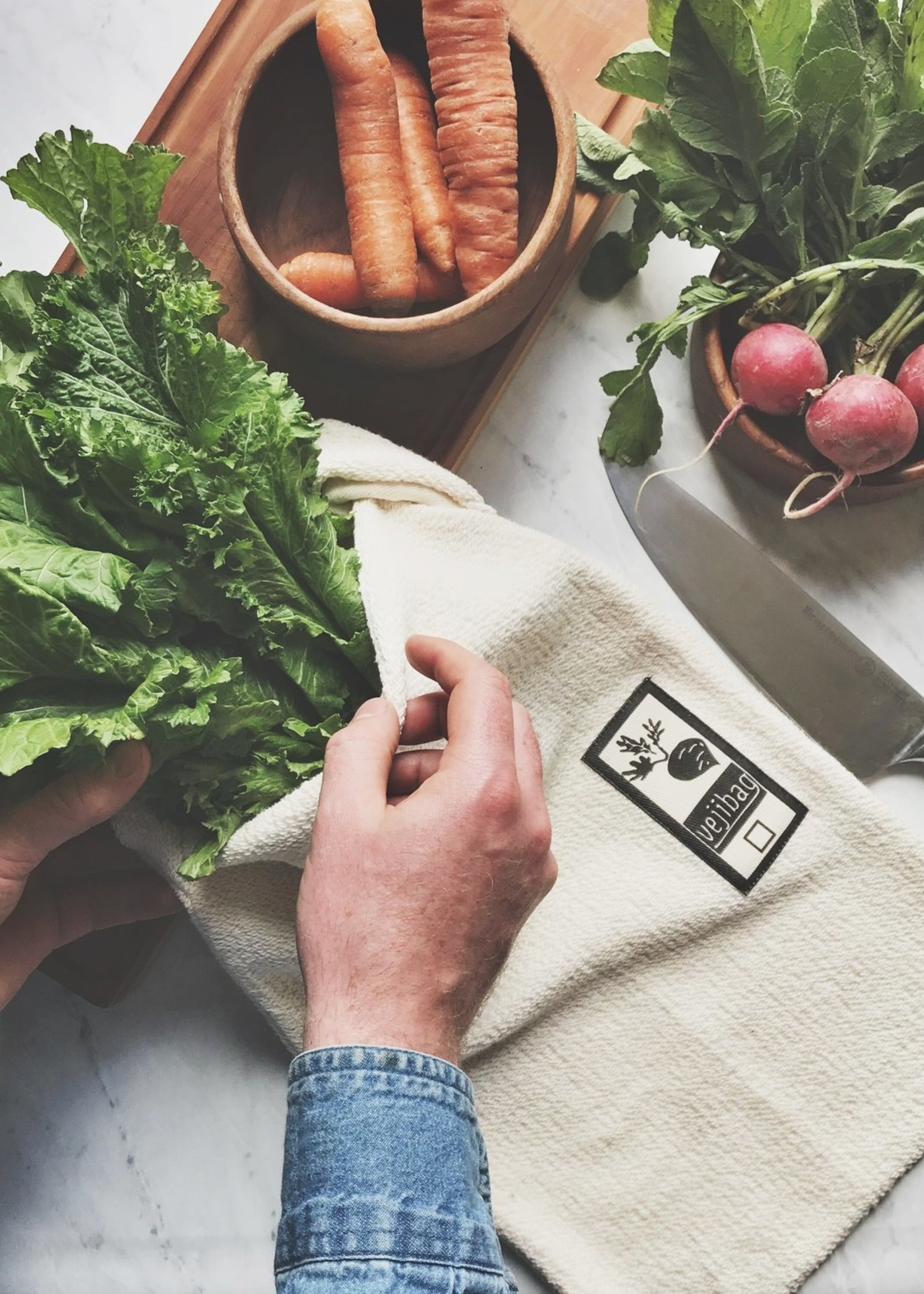 Vejibag Vegetable Crisper Bag - Large
