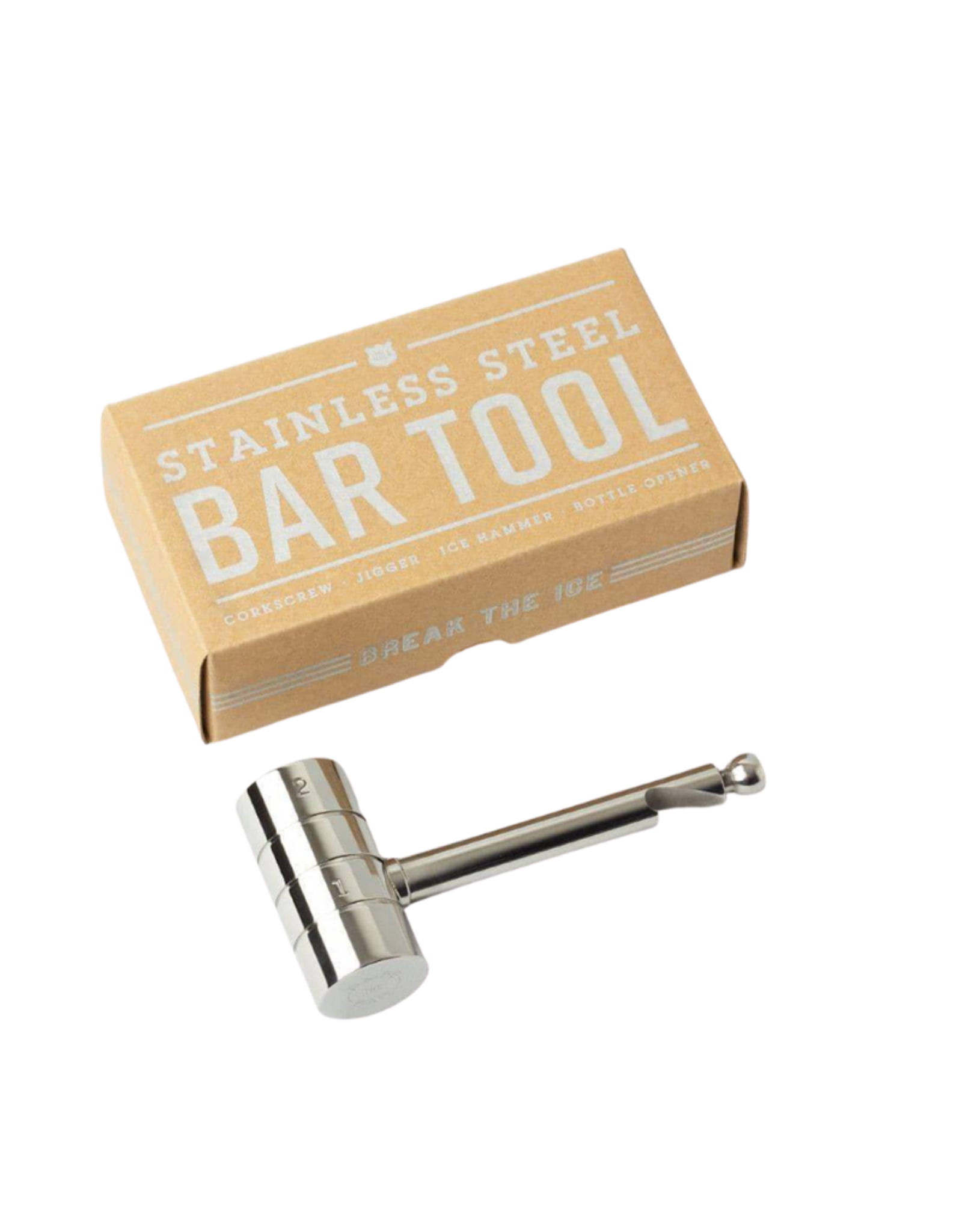 Izola Stainless Steel  4-in-1 Bar Tool