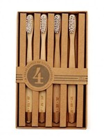 Izola Izola - Guest Toothbrushes - Set of 4