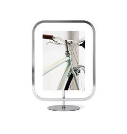 "Umbra Umbra - Infinity Square Frame - Chrome - 5""x7"""