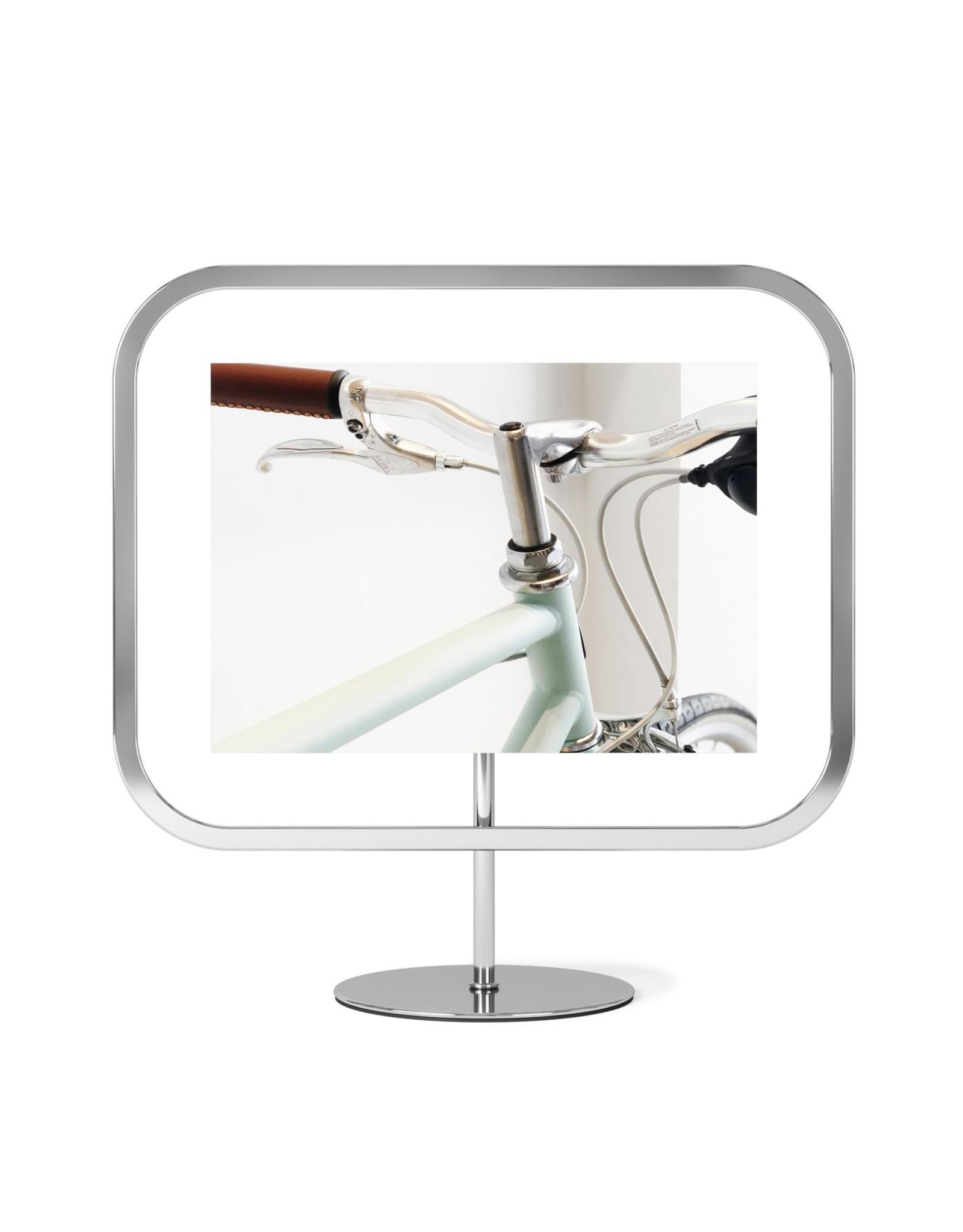 """Umbra Infinity Square Frame - Chrome - 5""""x7"""""""