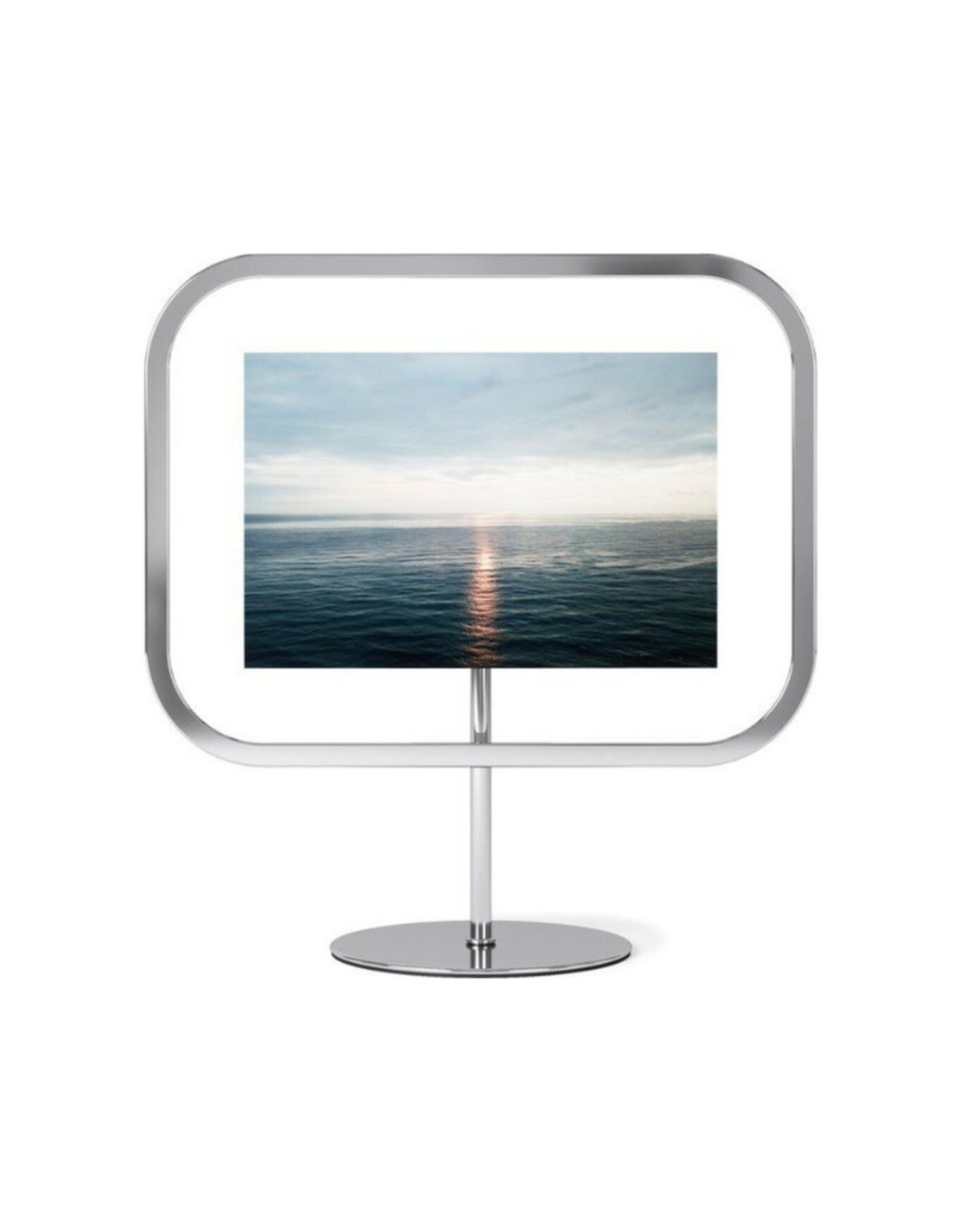 """Umbra Infinity Square Frame - Chrome - 4""""x6"""""""