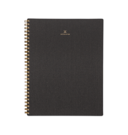 Appointed Appointed Notebook Lined - Charcoal Gray