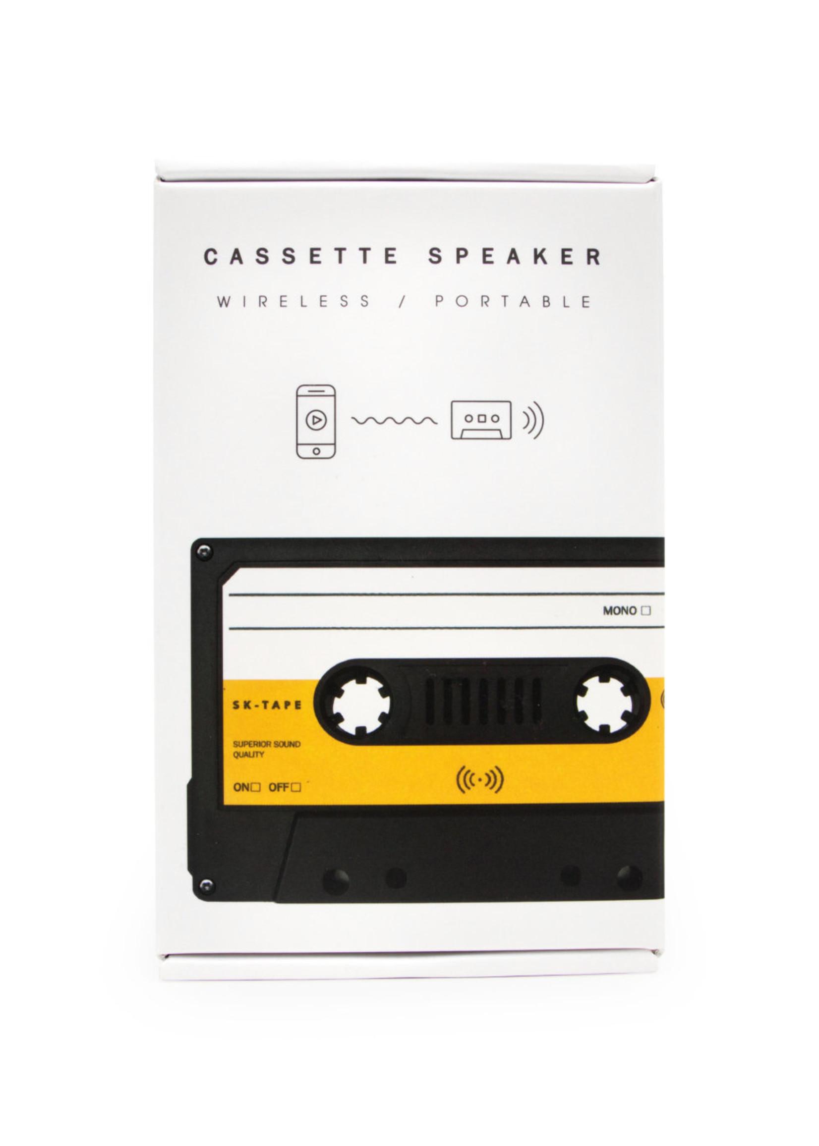 SuckUK Suck UK Cassette Speaker Bluetooth