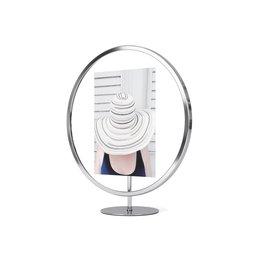 "Umbra Umbra - Infinity Round Frame - Chrome - 5""x7"""