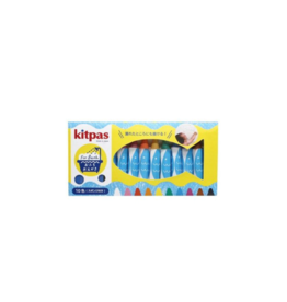 Kitpas Kitpas Crayons for Bath 10 Colors with Sponge