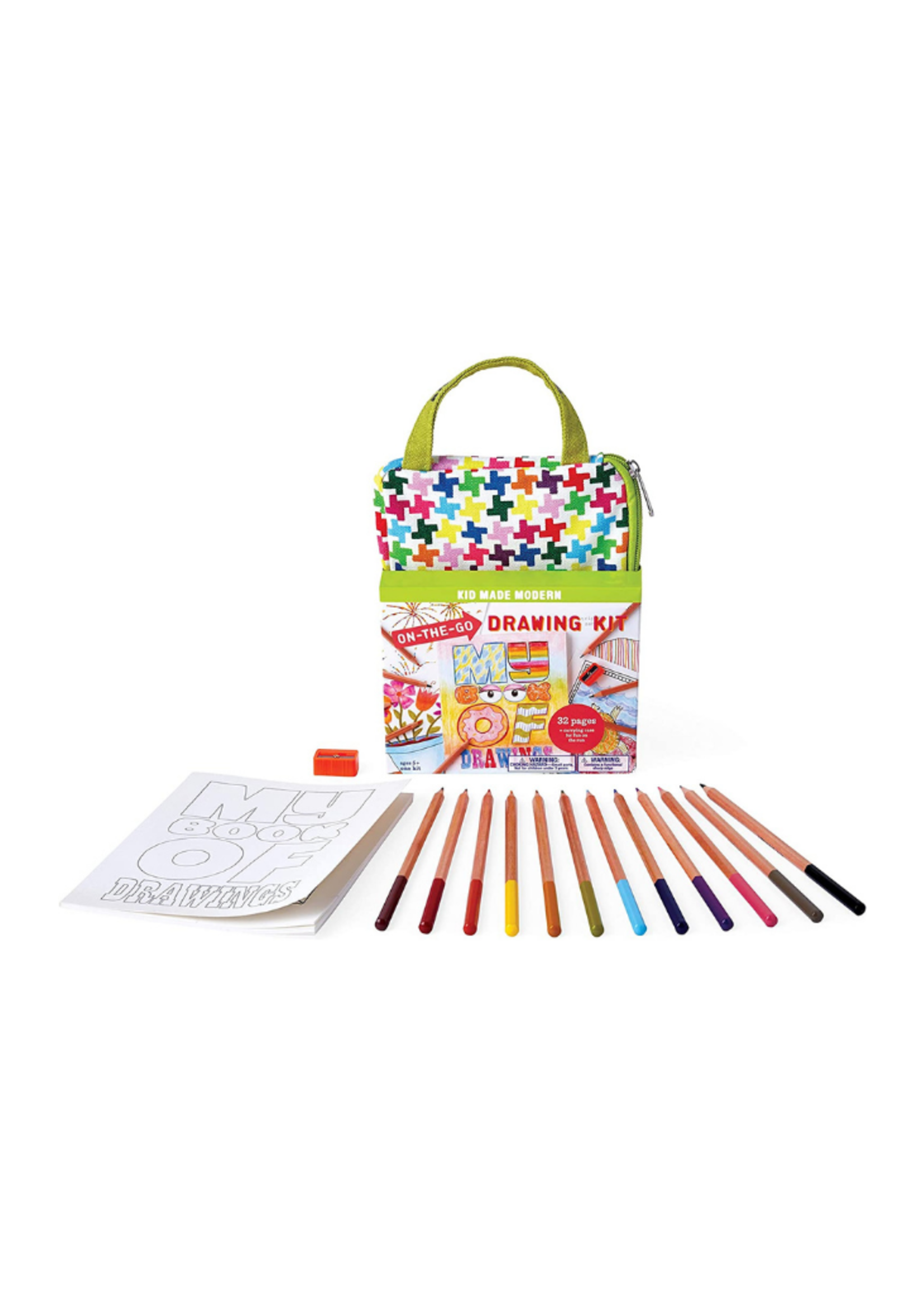Kids Made Modern On the Go Drawing Kit