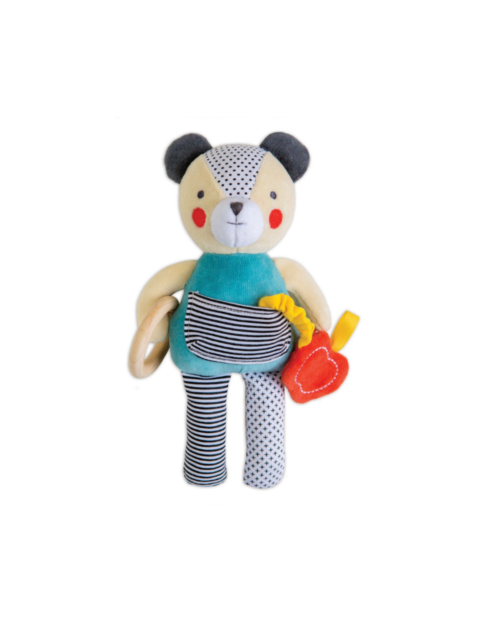 PetitCollage Petit Collage Bear Organic Baby Activity Toy