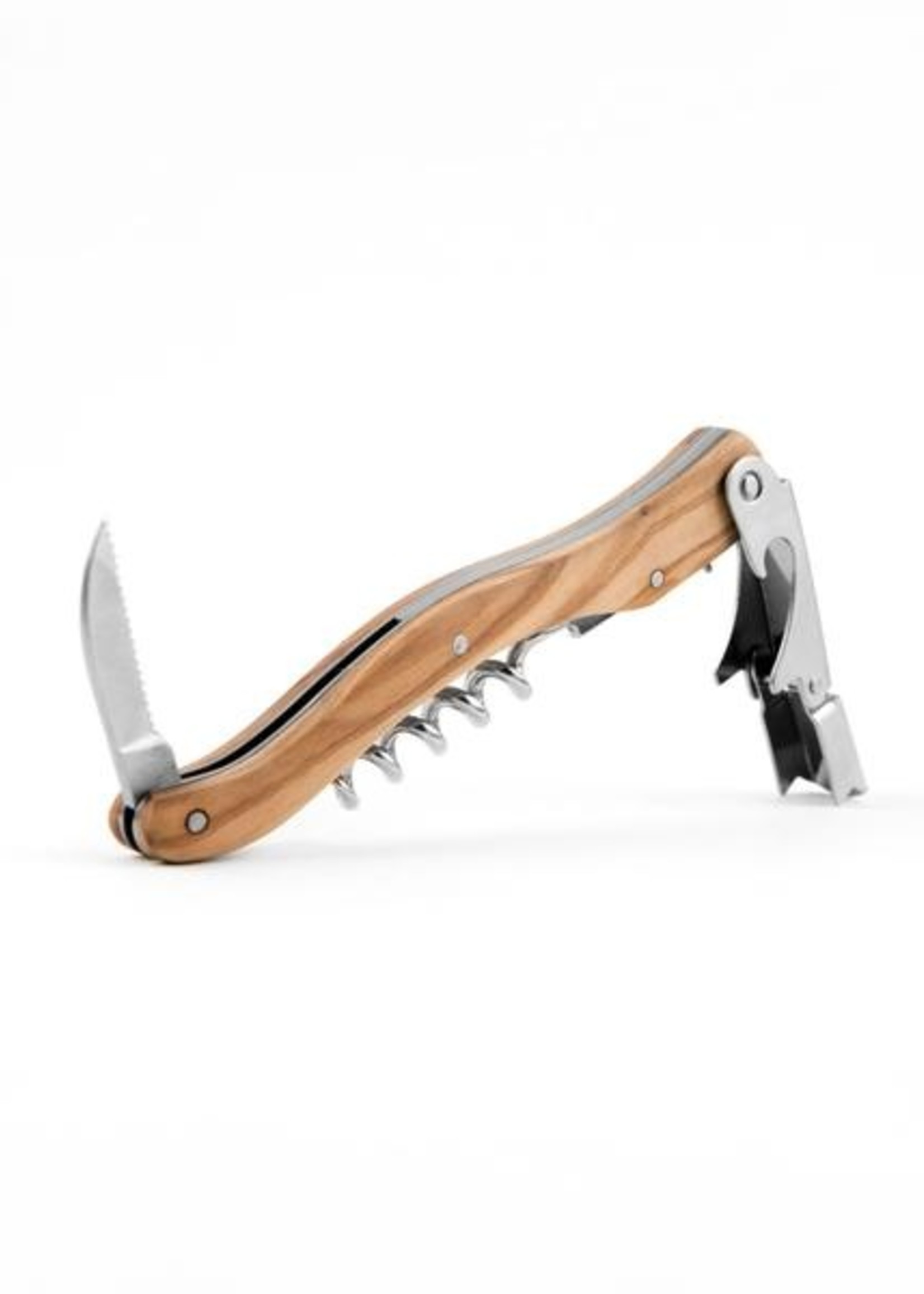 Kiss That Frog Corkscrew - Olivewood