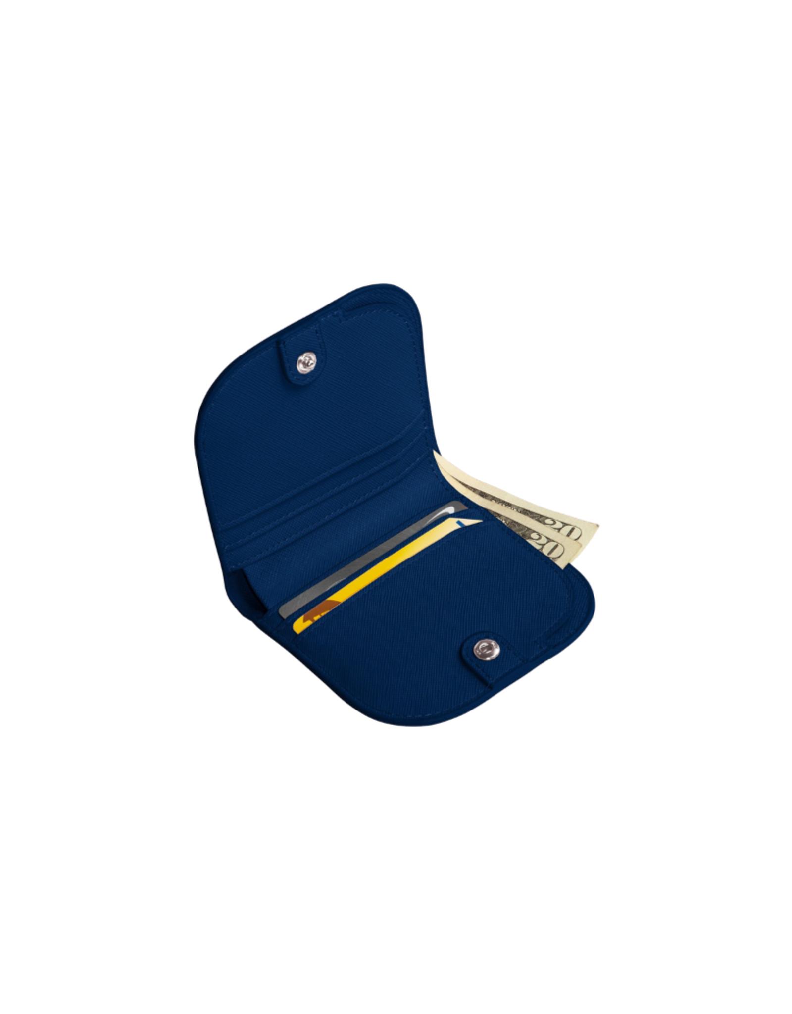 Poketo Poketo Dome Wallet Blue