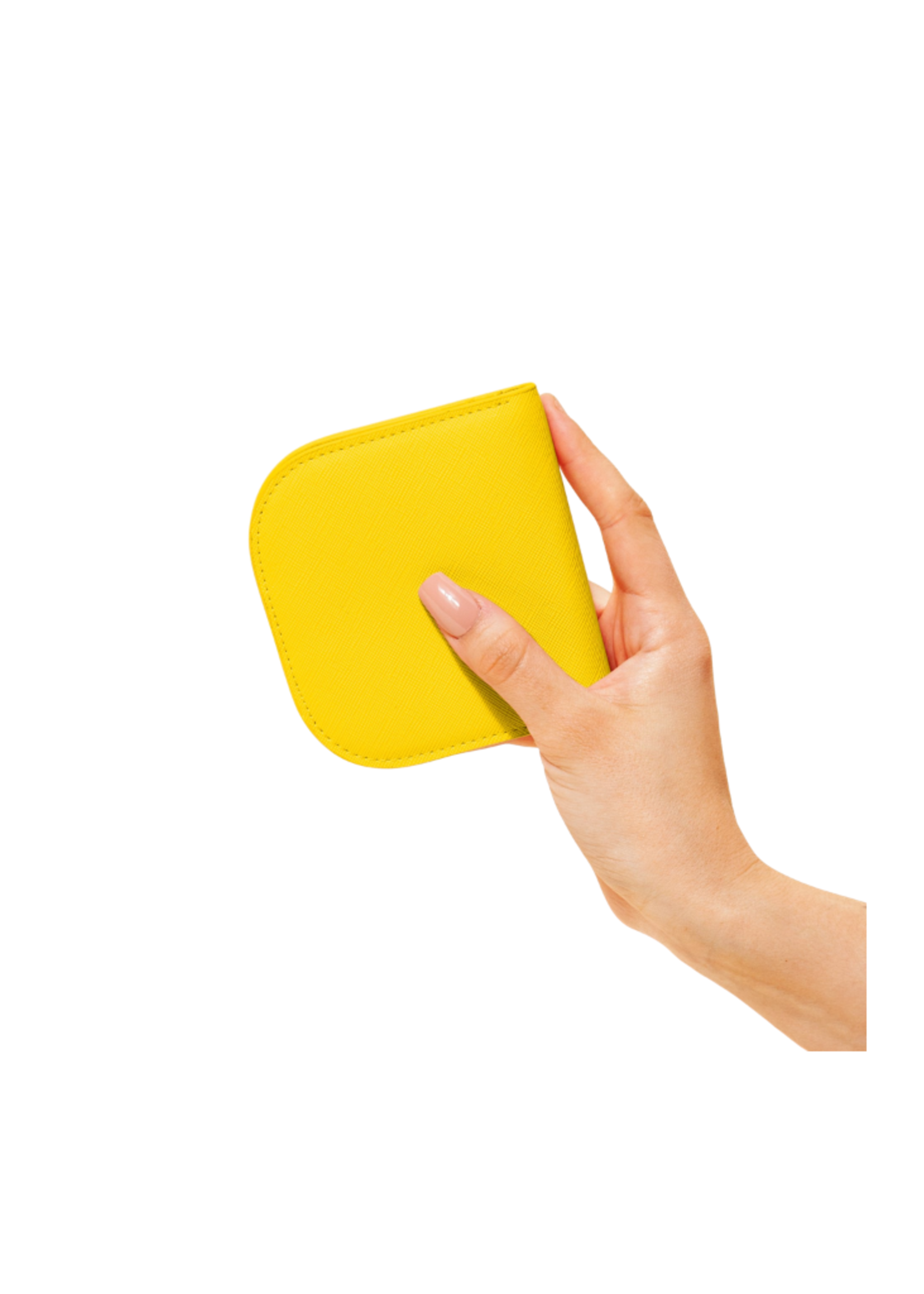 Poketo Poketo Dome Wallet Yellow