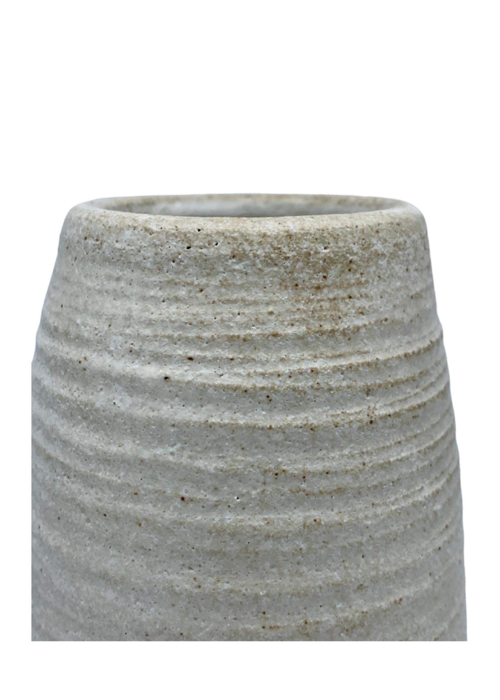 Richard Lau Pottery White Tower Gourd
