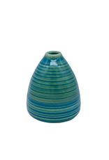 Richard Lau Pottery Richard Lau Pottery Blue Green Bud Vase