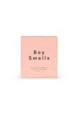 Boy Smells Ash Candle