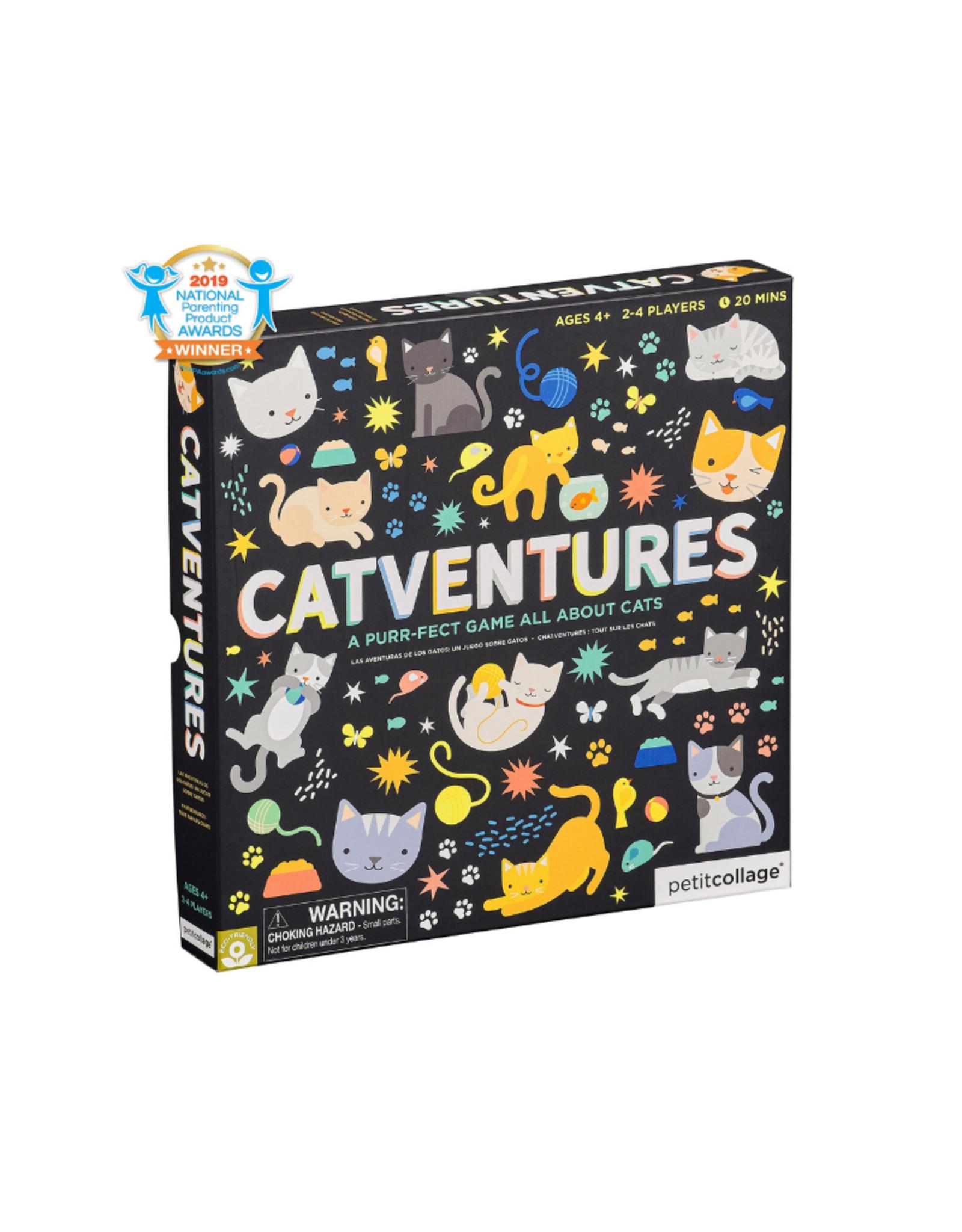 PetitCollage Petit Collage Catventures Board Game