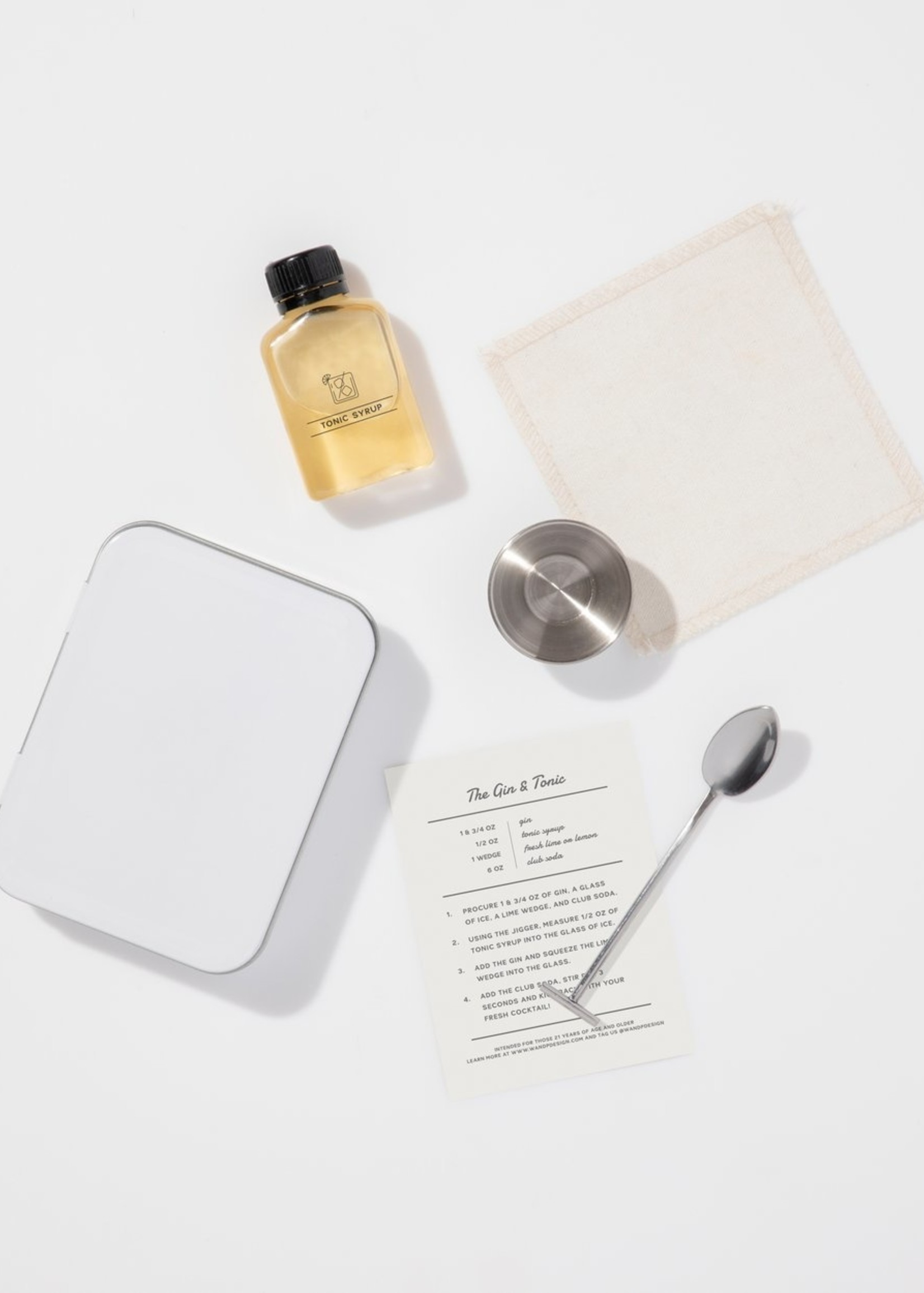 W&P Design Carry On Cocktail Kit - Gin & Tonic