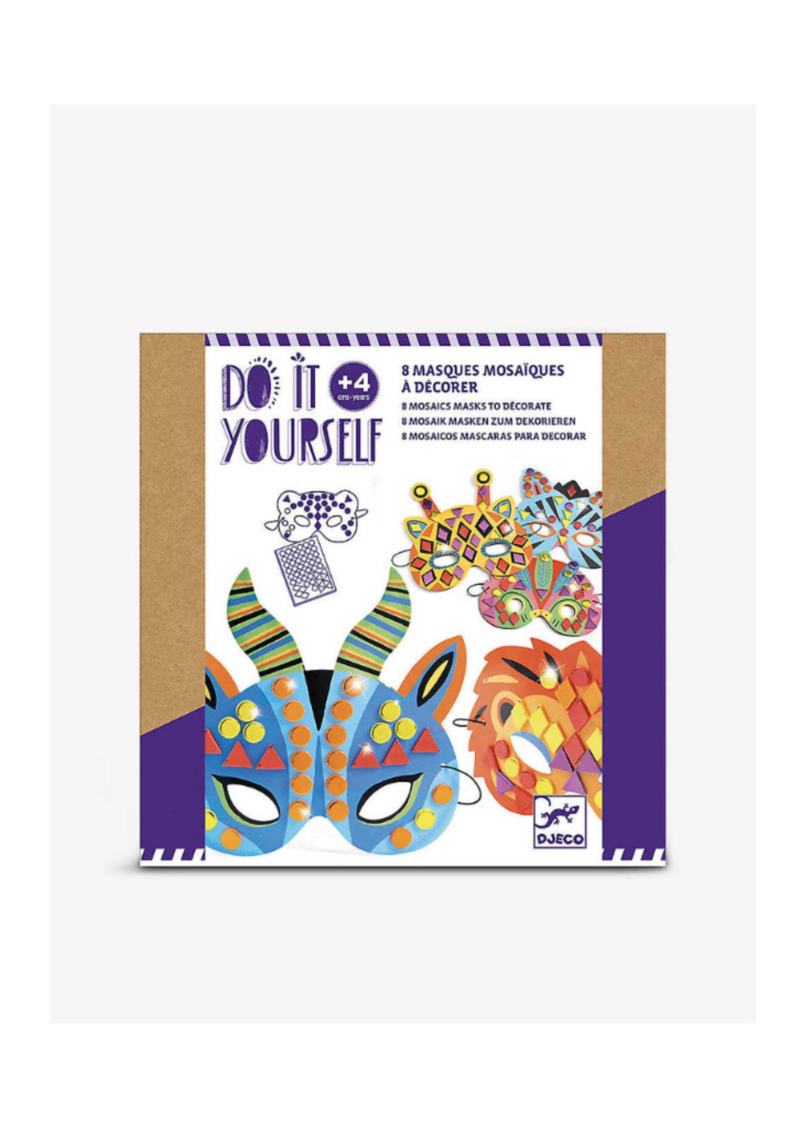 Djeco Jungle Animal Mosaic Masks