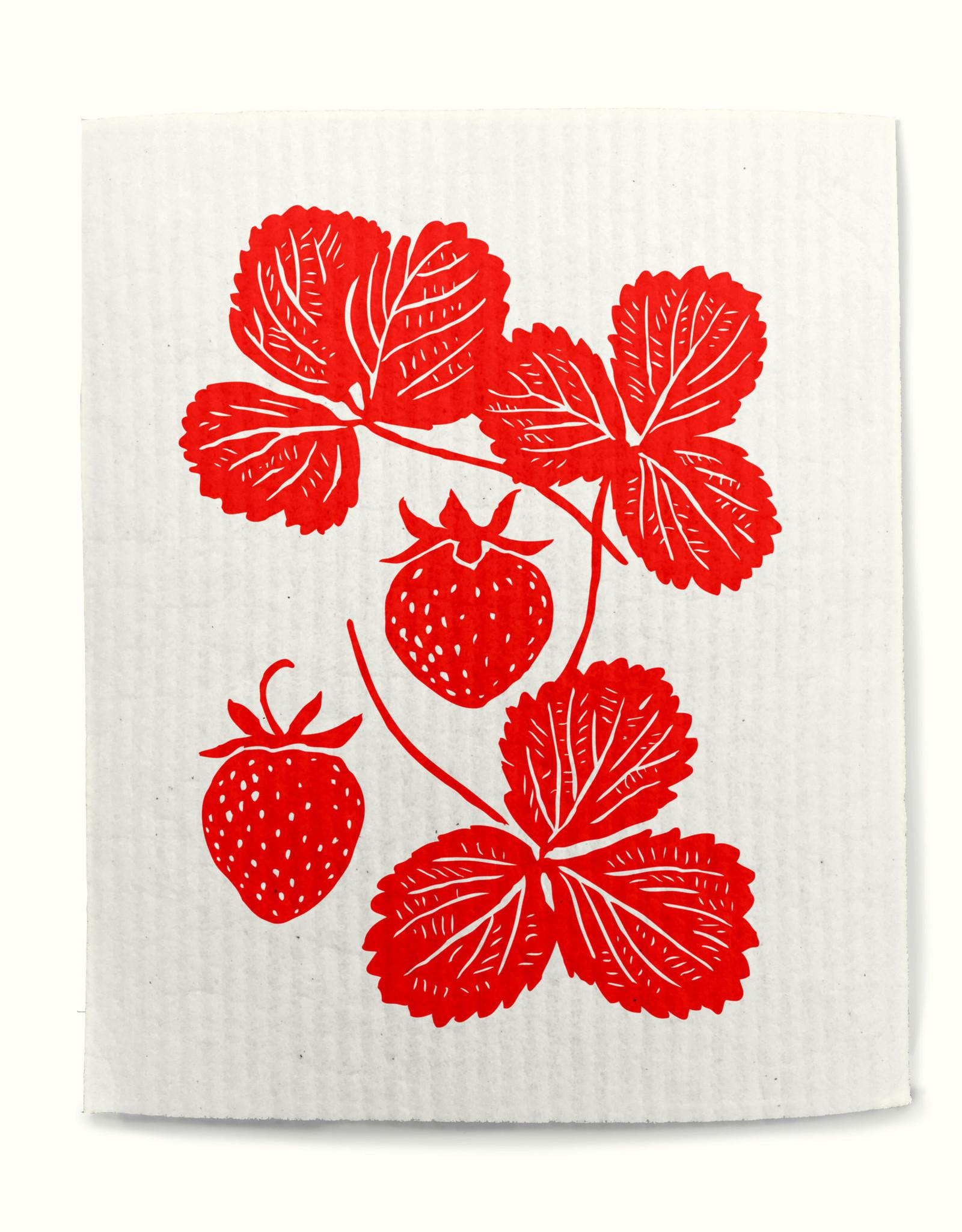 Rigel Stuhmiller Swedish Dish Cloth - Strawberry